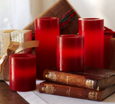 estive red candles