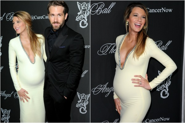 Blake Lively and pregnant celebrity red carpet fashion