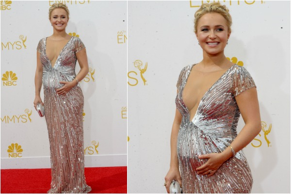 Hayden Panettiere and pregnant celebrity red carpet fashion