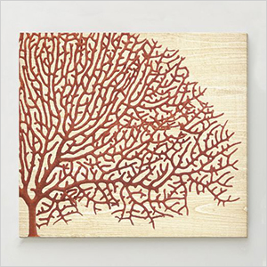Red coral print | Sheknows.ca