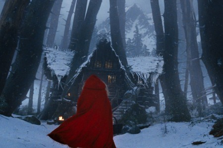 Red Riding Hood, out in theaters now