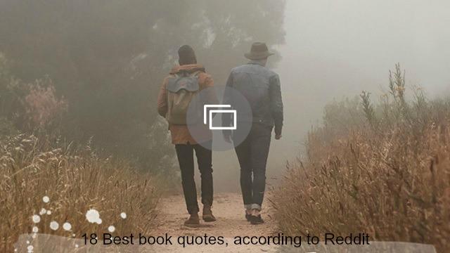 Reddit book quotes slideshow