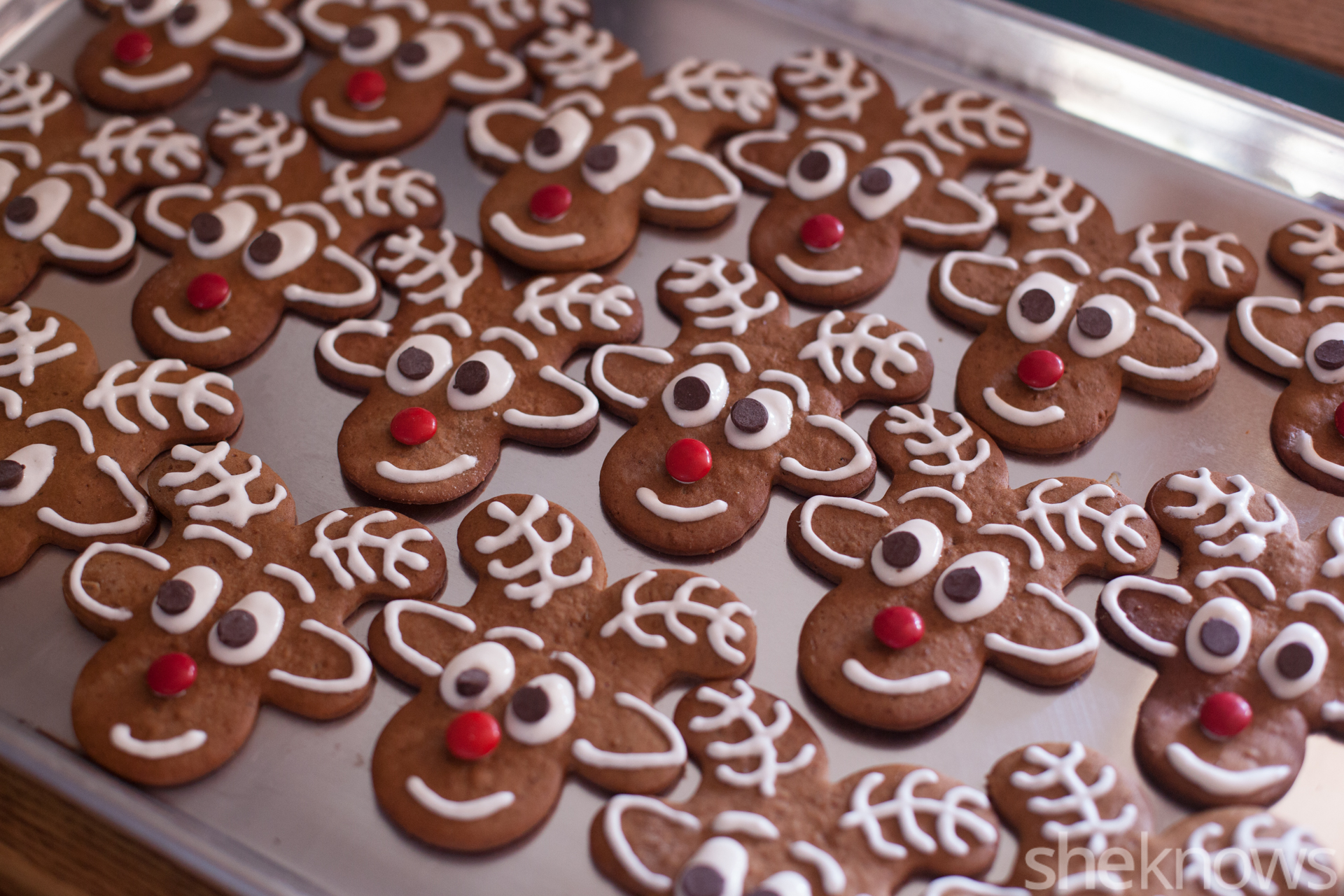 Gingerbread Reindeer Cookies Are A Cute New Take On A Holiday