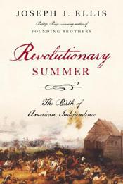 Recolutionary Summer by Joseph Ellis book cover