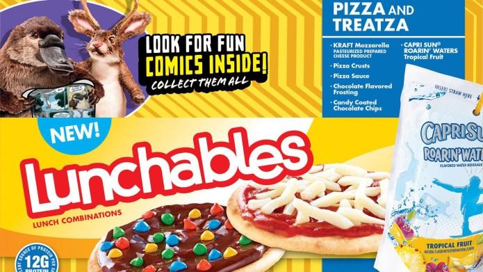 Treatza Pizza Lunchables Are Making a