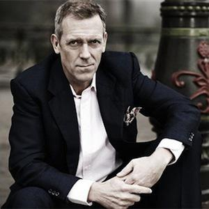 Hugh Laurie's in the house with