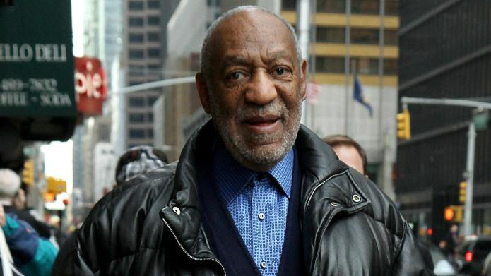 Bill Cosby jokes that he's evil,