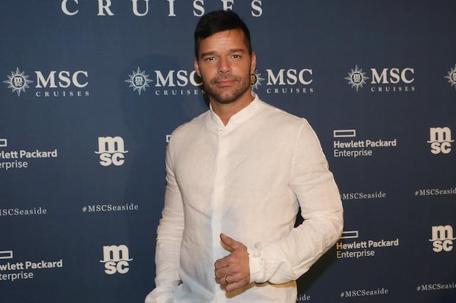 Ricky Martin Golden Globes 2018