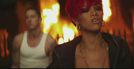 Eminem and Rihanna in Love the Way You Lie