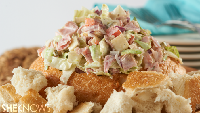 Meaty hoagie dip other ridiculously good