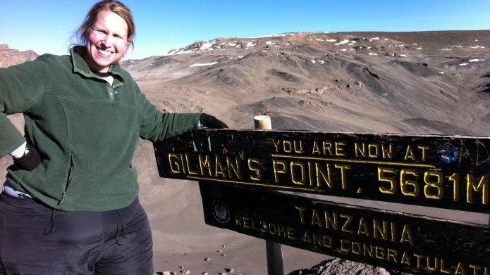 Incredible woman hikes Kilimanjaro at 300