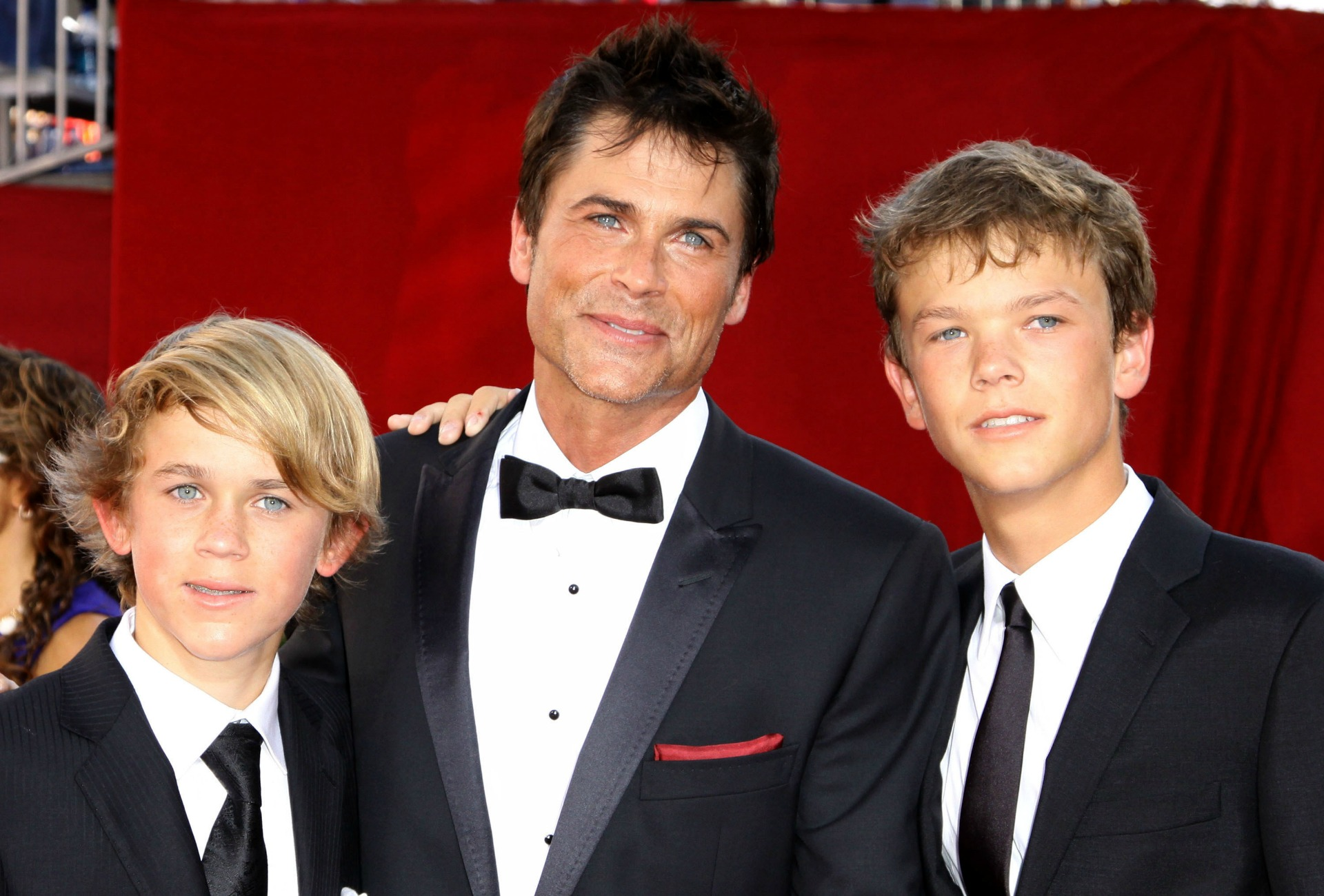 Rob Lowe and sons