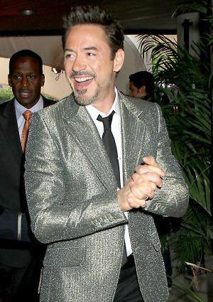 Robert Downey Jr. at The Avengers