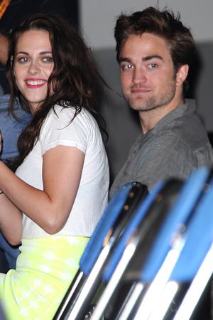 Kristen Stewart and Robert Pattinson together