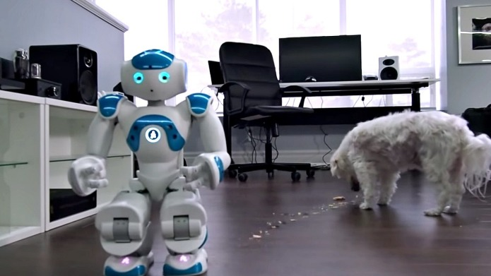 Robot fails miserably at giving this