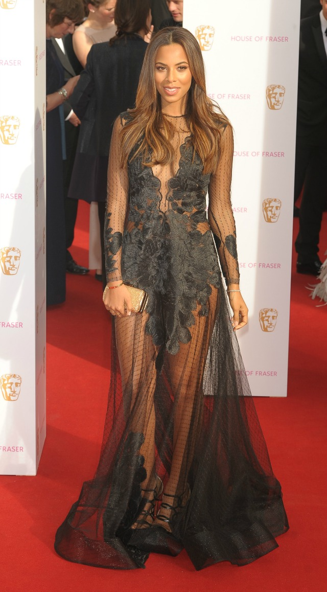 Rochelle Hulmes at the TV BAFTAS 2015