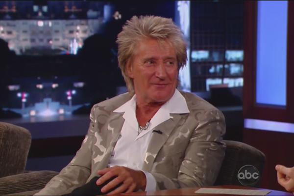 Rod Stewart on Jimmy Kimmel