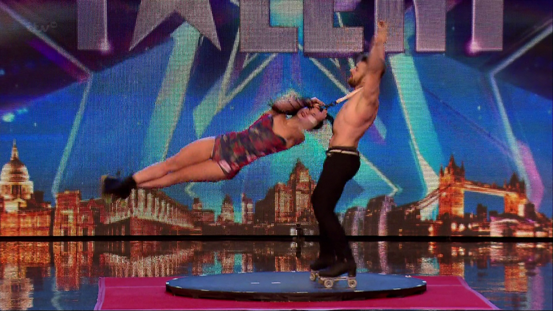 Britain's Got Talent Billy and Emily England