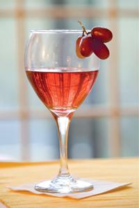 Rosé Wine-tail