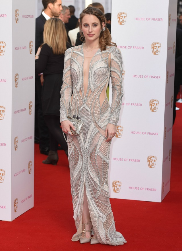 Rosie Fortescue at the TV BAFTAS 2015
