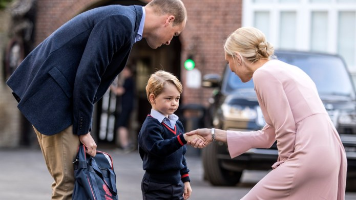 Prince George Looks Very Chill as