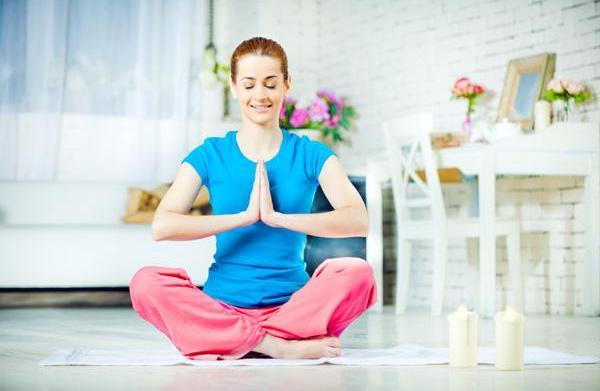 Create a yoga sanctuary at home