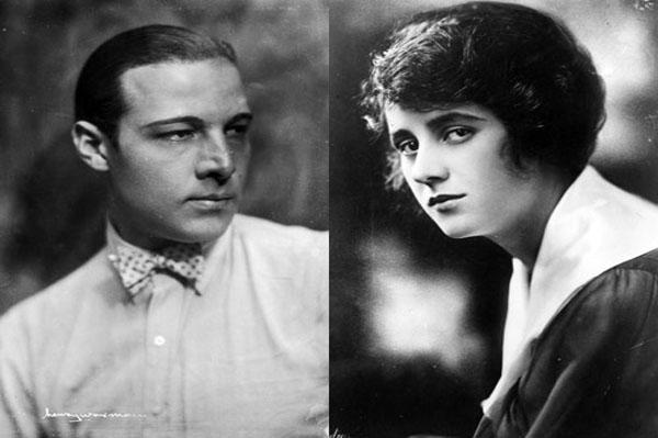 Rudolph Valentino and Jean Acker