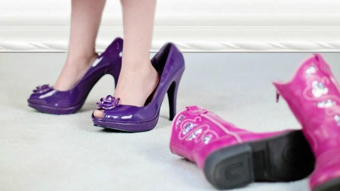 Is child fashion making kids grow