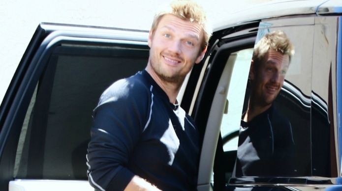 Nick Carter fumbles on DWTS after