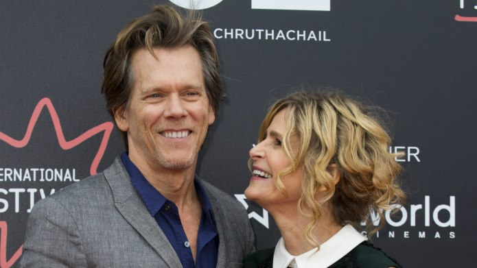 Kevin Bacon & Kyra Sedgwick Celebrate
