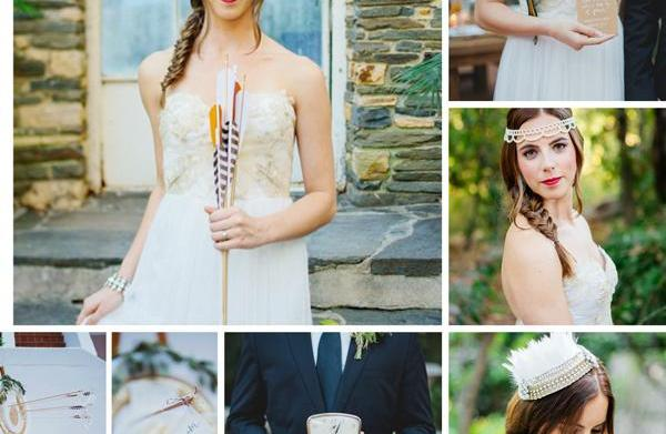 The Hunger Games-inspired wedding ideas