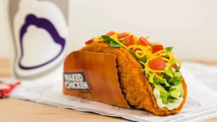 Taco Bell's Naked Chicken Chalupa streaks