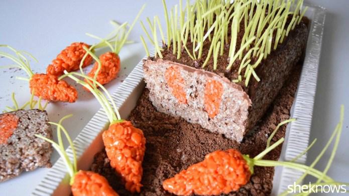 How to make a carrot garden