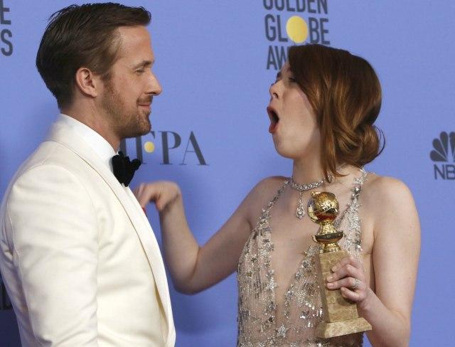 Ryan Gosling and Emma Stone