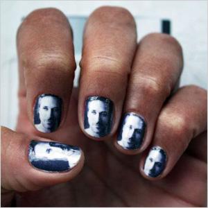 Ryan Gosling nail art