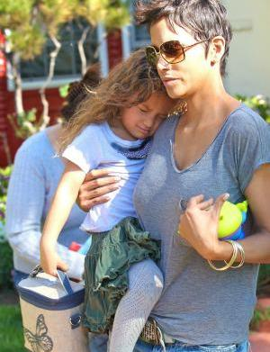 Halle Berry gears up for a