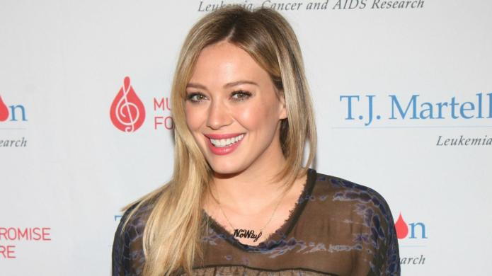 Hilary Duff is officially creeped out,