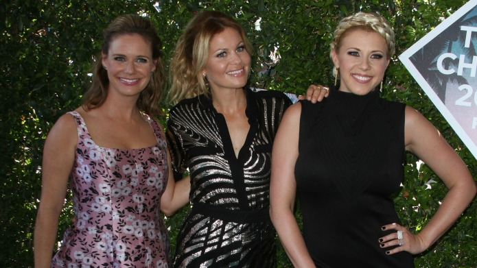 Candace Cameron Bure and the Fuller