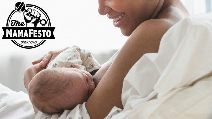 My breastfeeding story doesn't always get