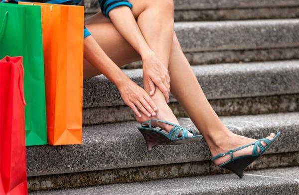 Easing foot pain: Best advice is