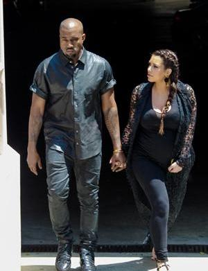 Kanye West injured trying to avoid