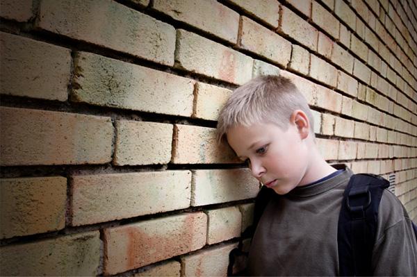 Sad Bullied Boy