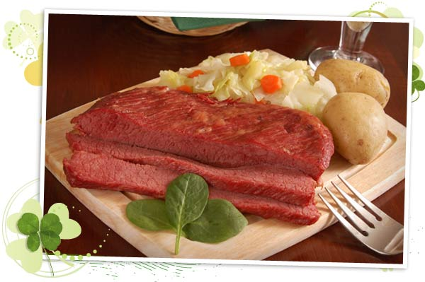 Cabbage and Corned Beef