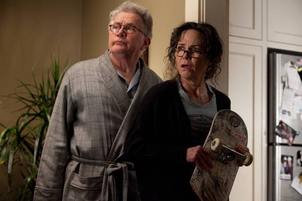 Sally Field and Martin Sheen, The Amazing Spider-Man