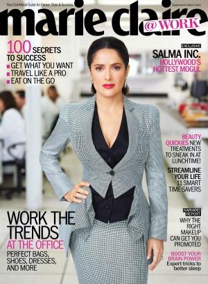Salma Hayek Marie Claire @Work