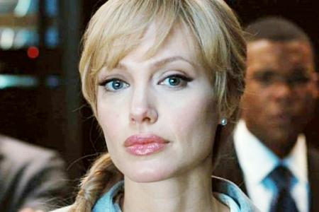 Angelina Jolie is Salt, opening July 23
