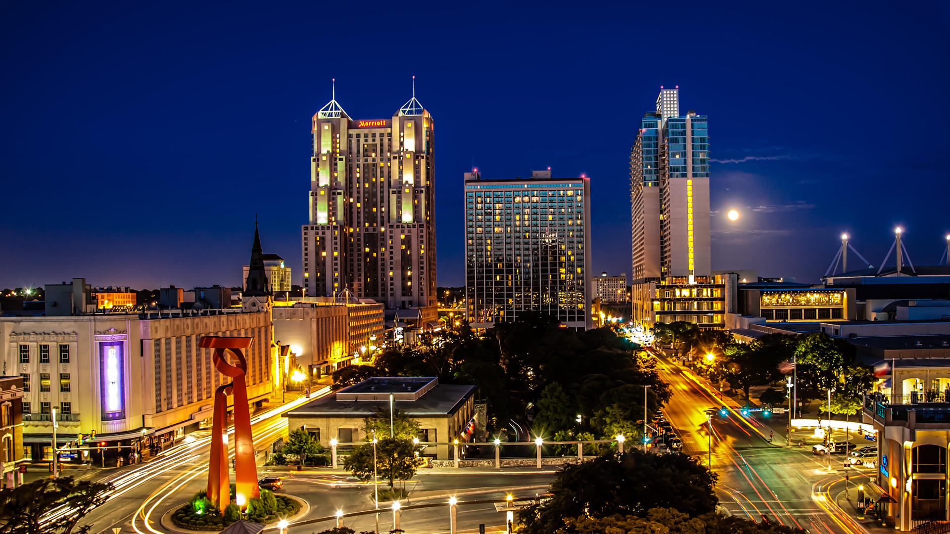 San Antonio, Texas skyline