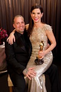 Sandra Bullock and husband Jesse James