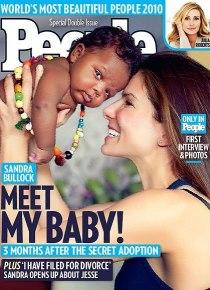 Sandra and her baby