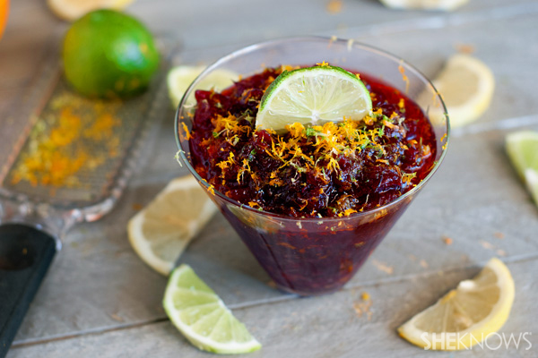Sangria cranberry sauce recipe